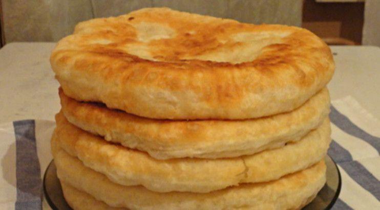 С этим рецептом забудешь, что такое хлеб! Пушистые лепешки ...
