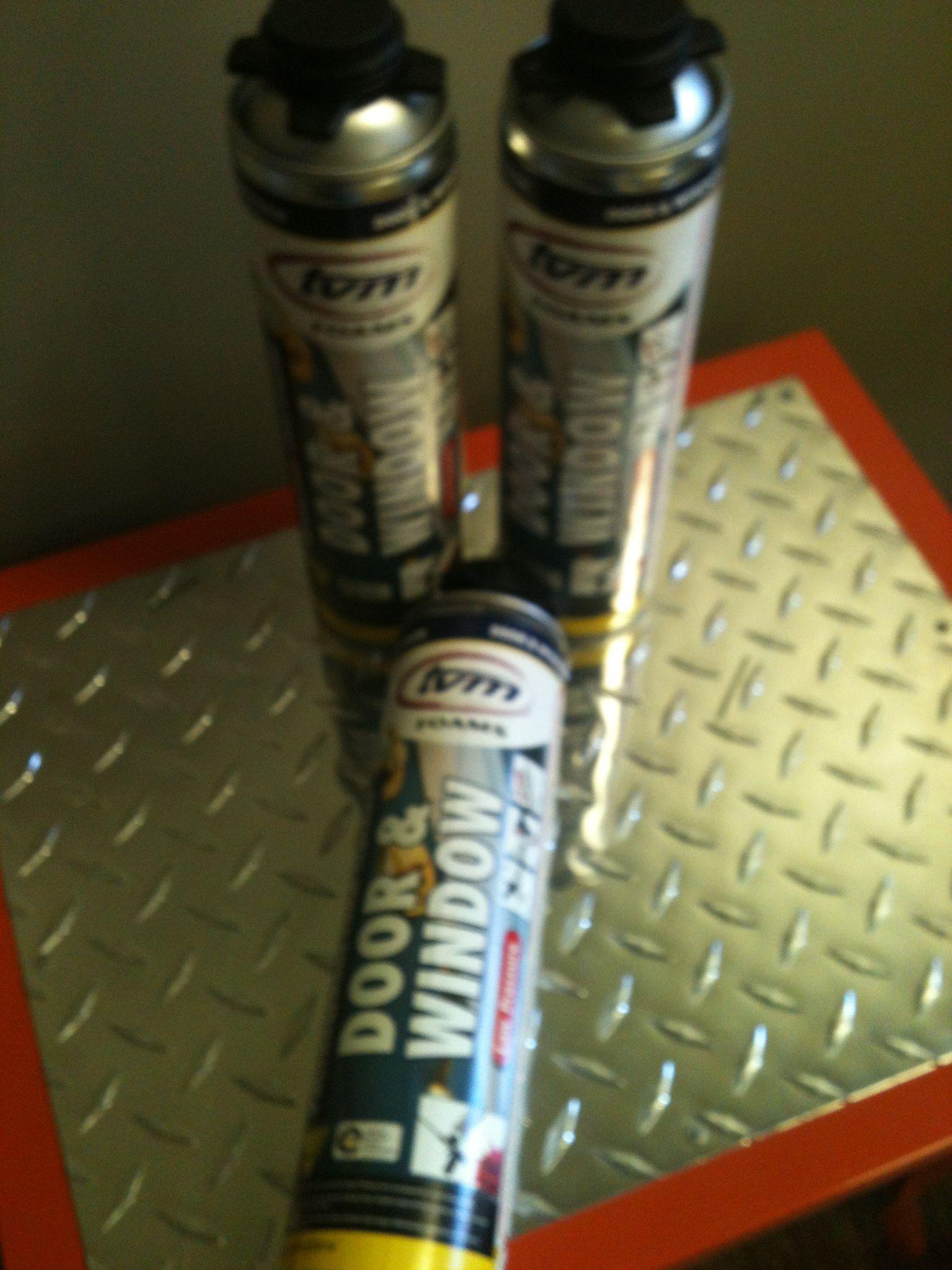 TVM Window & Door Canned foam. Sold by the case. 12/case