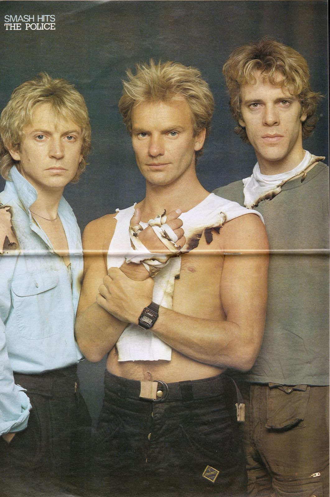 THE POLICE, smash hits, 1983