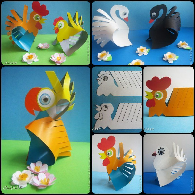 Diy Cute Paper Animal Crafts Punch Out Cards Pinterest Paper