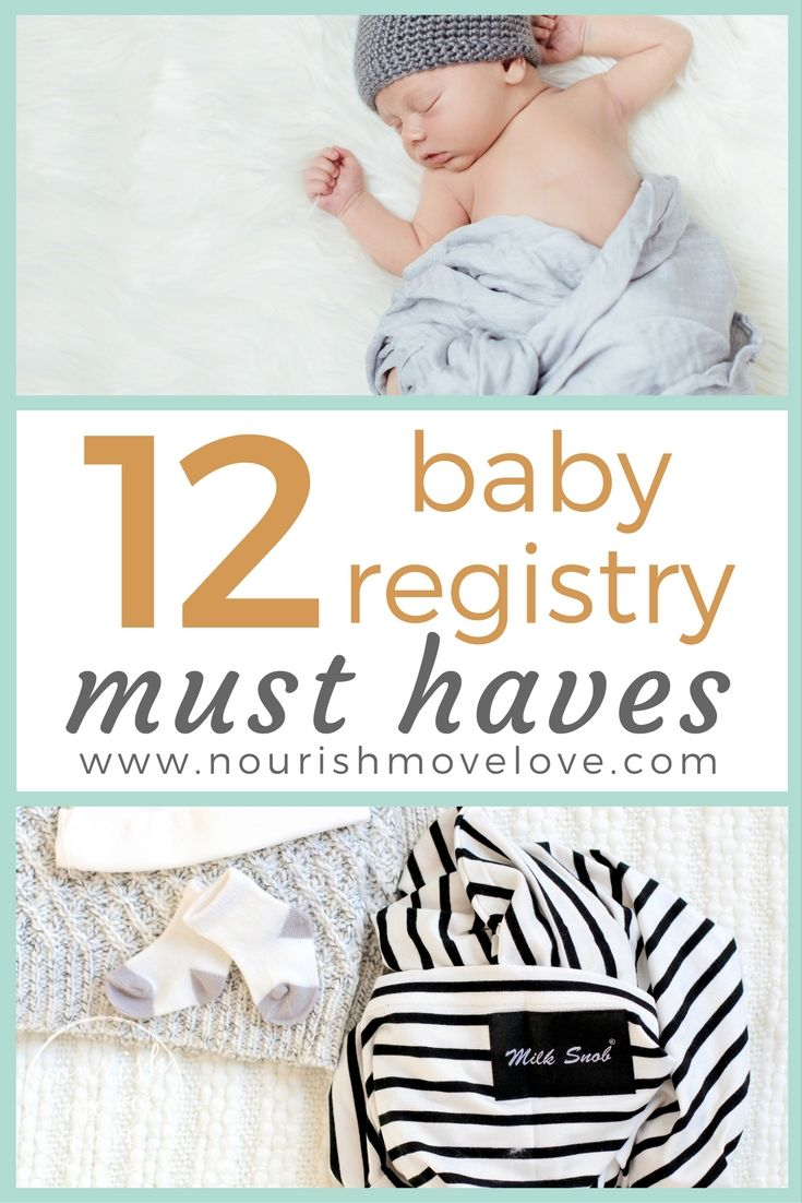 Baby Registry Essentials For New Moms  First Time Moms The O