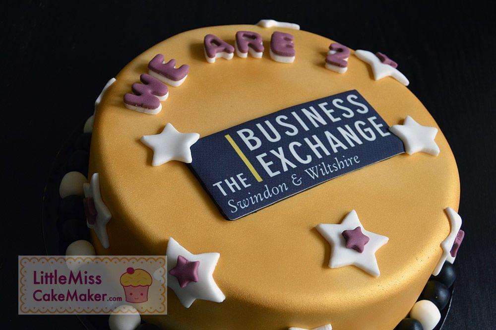 The business exchange swindon & wiltshire 2nd anniversary cake