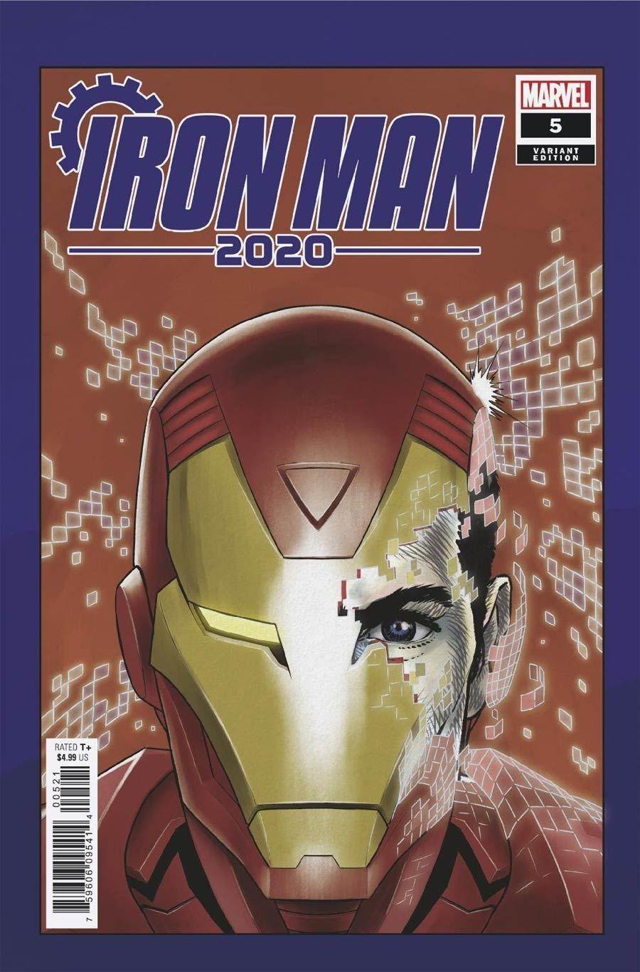 Iron Man 2020 1 Lim Variant Marvel Comics Tony Stark