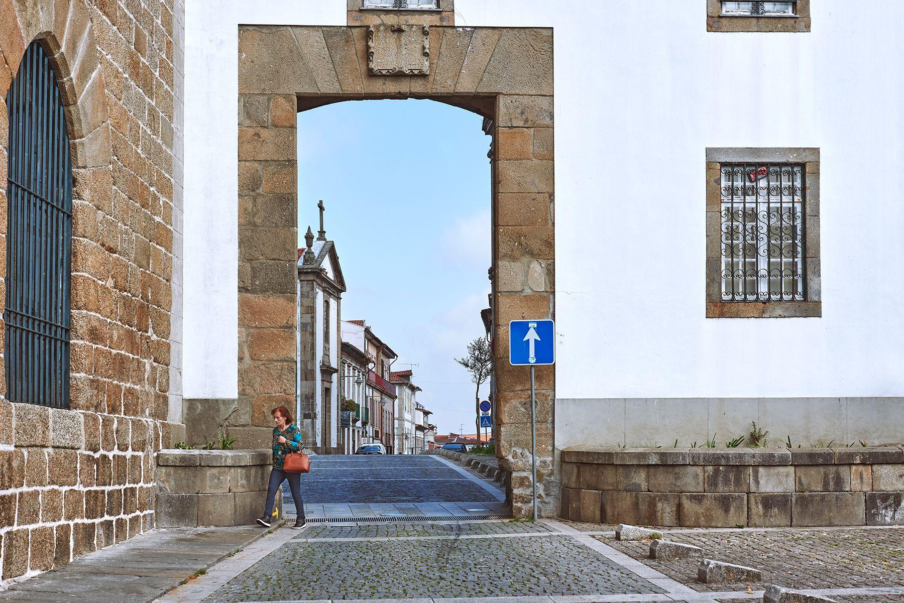 Una puerta en Braga ( Portugal)