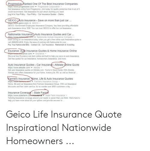 Progressiveranked One Of The Best Insurance Companies In 2020 Home Insurance Quotes Insurance Quotes Best Insurance
