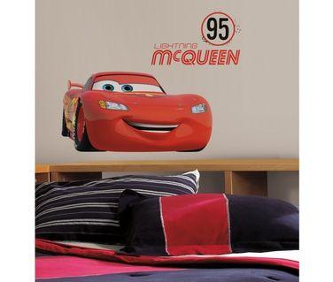 Grand sticker FLASH MCQUEEN - No 95 - CARS | Stickers Disney ...