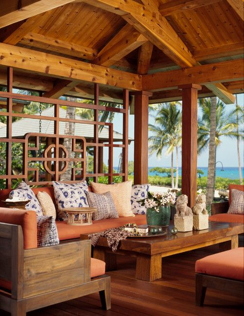 10 Awesome Tropical Outdoor Furniture Design Ideas 3