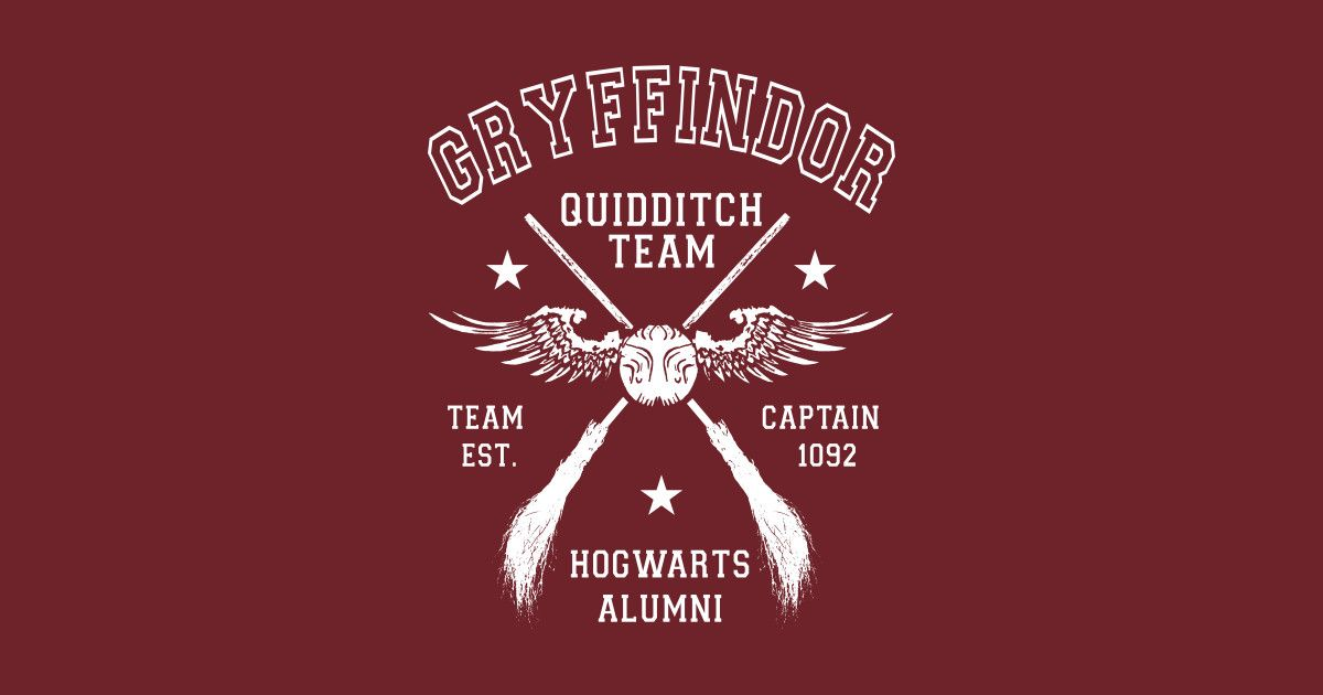 bdc1202d Shop Gryffindor Quidditch Team Captain harry potter t-shirts designed by  Immortalized as well as other harry potter merchandise at TeePublic.