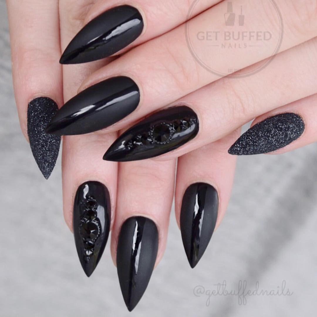 Pin On Sharp Nails Stiletto