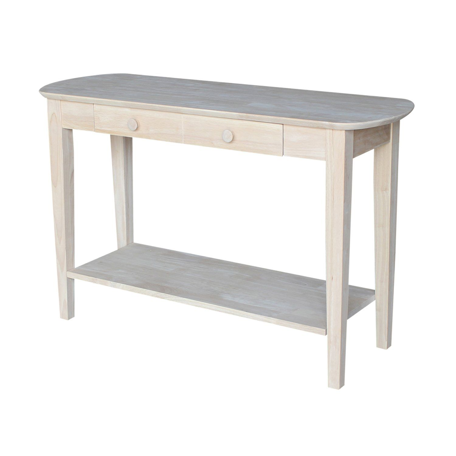 International Concepts Ot5s Phillips Oval Sofa Table Unfinished You Can Find More Details By Visiting The Image Li Sofa Table Furniture Unfinished Furniture