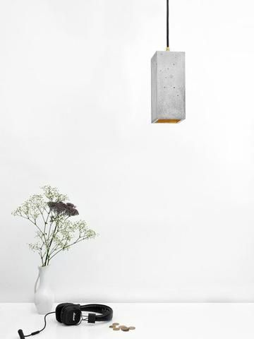 Gant Lights - Concrete hanging lamp B2 II Onyx Creative
