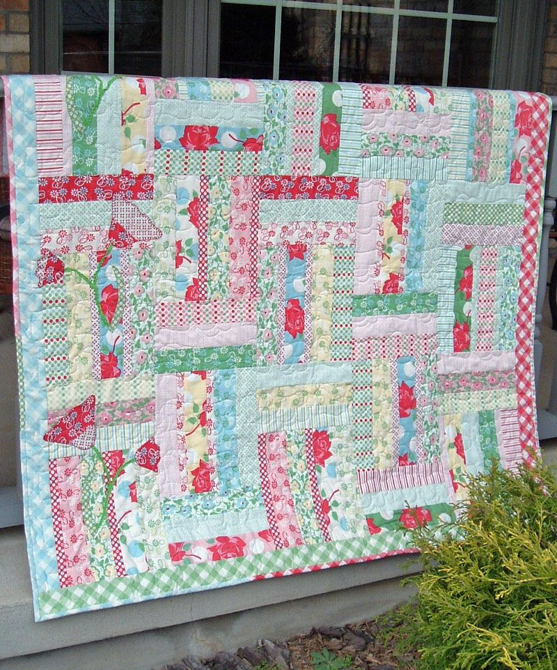 My Wild Irish Rose http://www.quiltpatterndesign.com/my-wild-irish ... : free quilt patterns using jelly rolls - Adamdwight.com