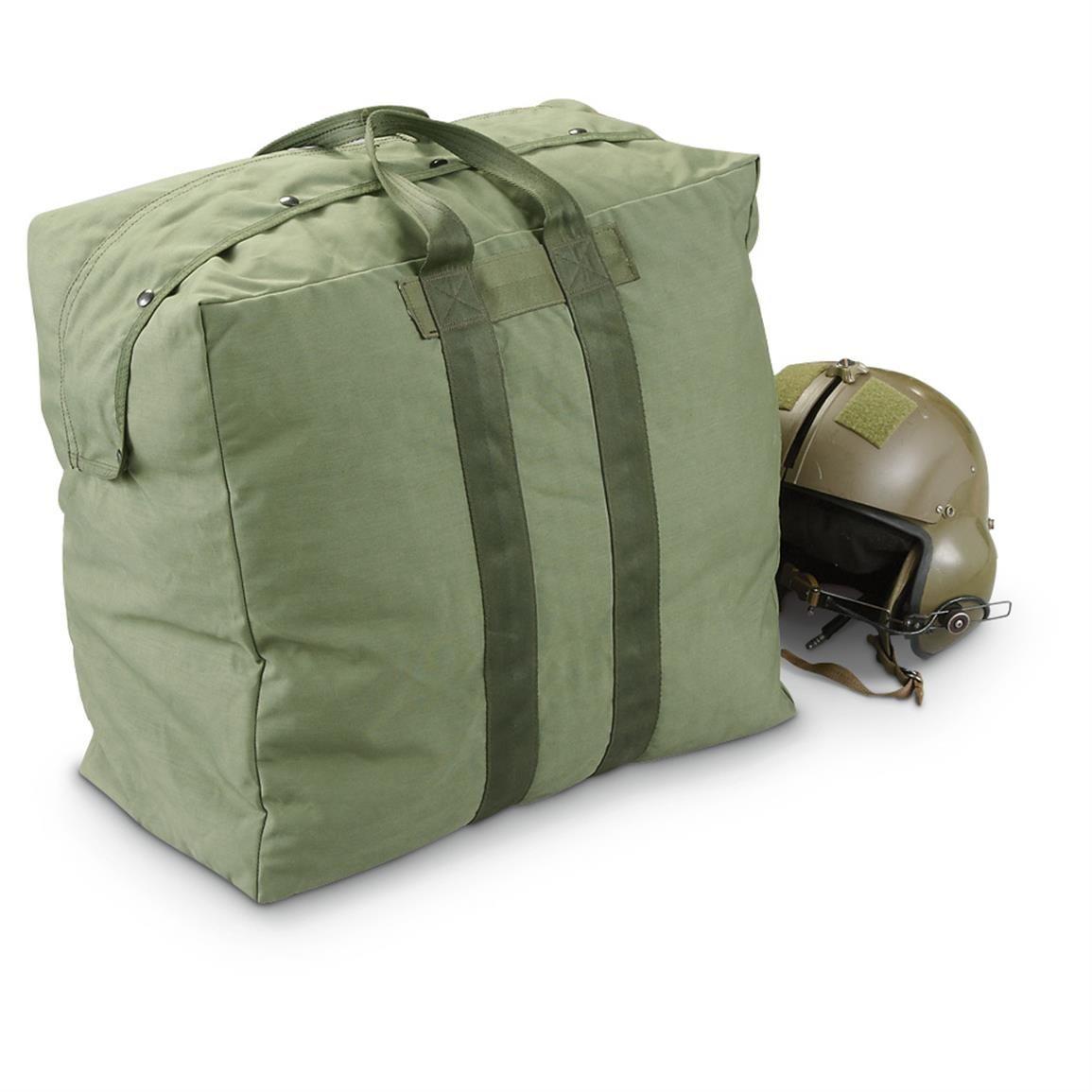 Used U S Military Surplus Flyer Kit Bag