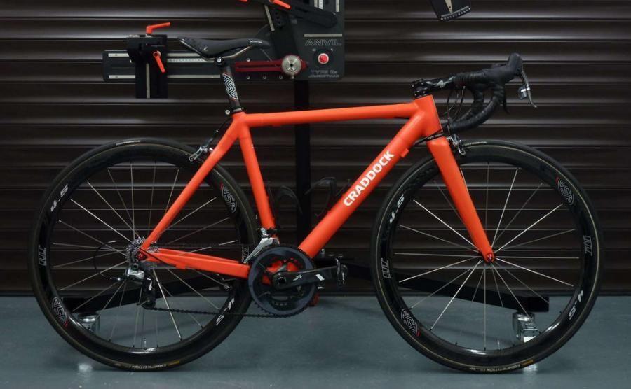 Craddock Cycles, UK made carbon fibre frames