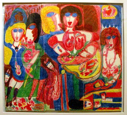 Aloise Corbaz | Arte, Artes visuales