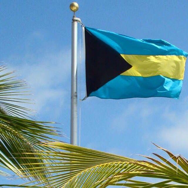 Bahamas Flag Beach Towel