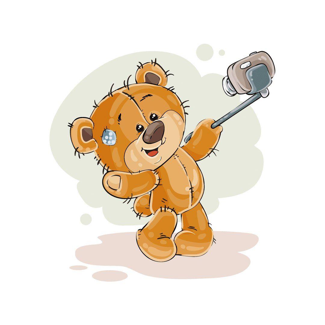 Медведи картинки прикольные для детей мультяшные