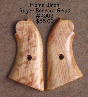 Tim's Workshop: Ruger Bearcat Grips FLAME BIRCH | Ruger