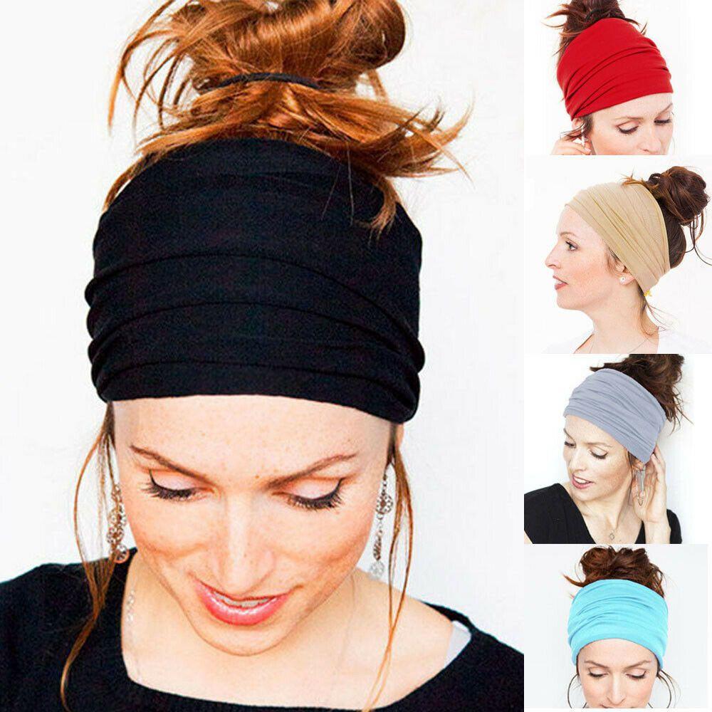 Hairband Sports Headband Yoga Gym Stretch Girl Woman Kid Head Band LA