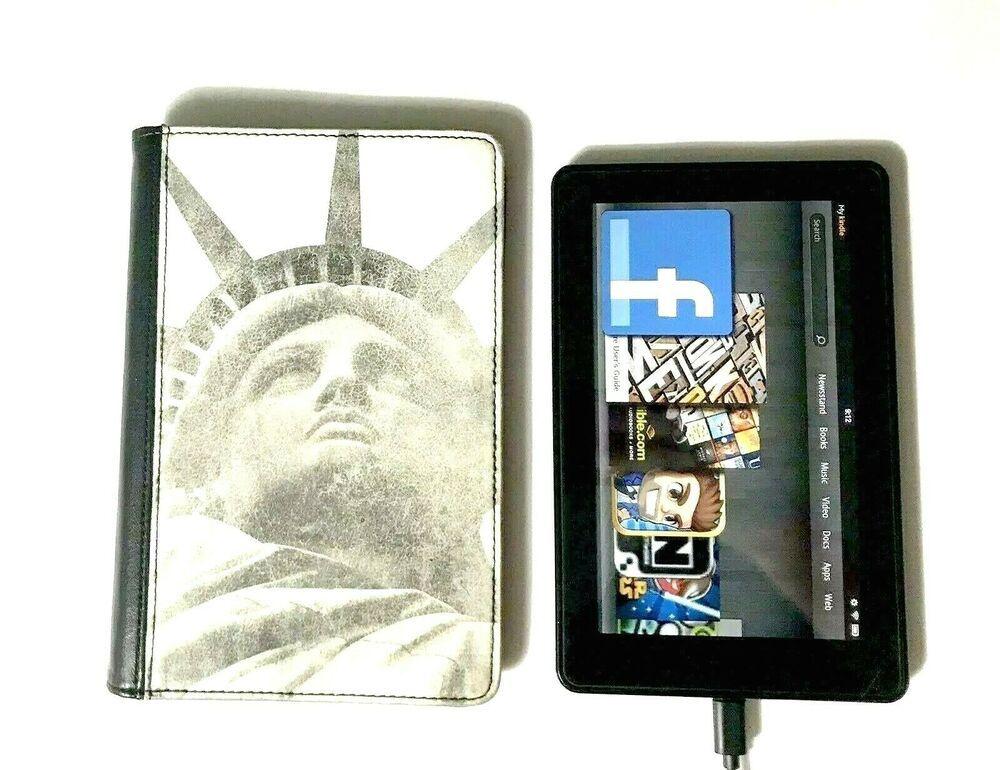 Amazon Kindle Fire Tablet 2011 Black 1st Generation Wifi