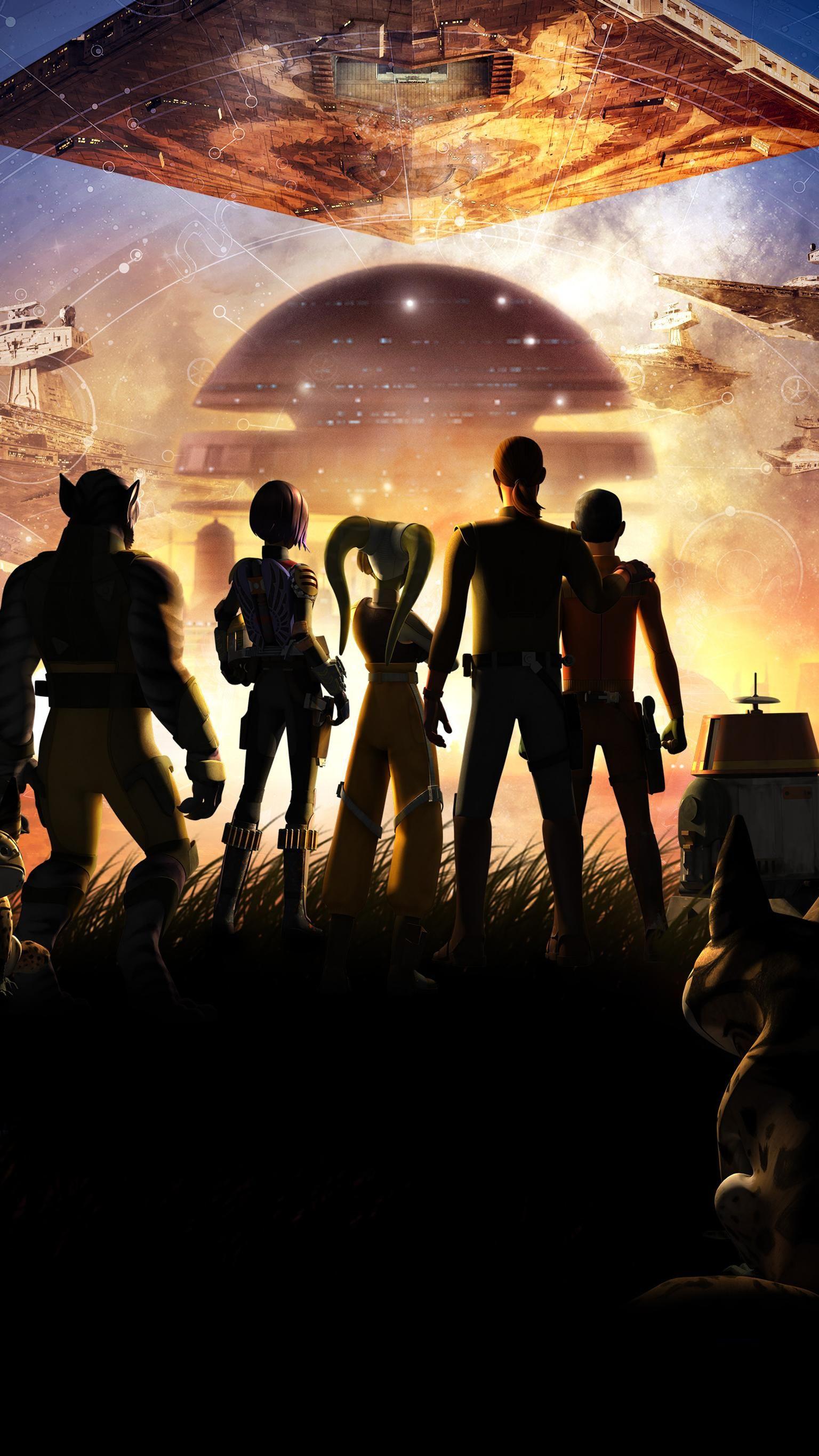 Star Wars Rebels Phone Wallpaper Moviemania Star Wars Watch Star Wars Poster Star Wars Rebels