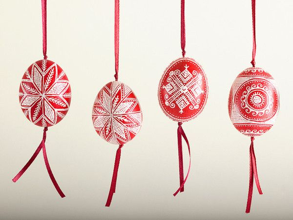 Charming Anna Creates Pysankas U2013 Decorated Easter Eggs And Embroidery Artwork  (pillows And Hand Towels)