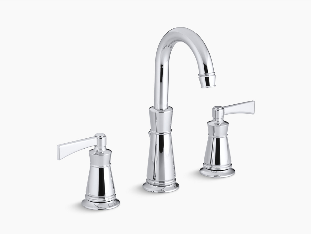 K 11076 4 Archer Widespread Sink Faucet With 8 Inch Centers Kohler Bathroom Faucets Modern Bathroom Faucets Widespread Bathroom Faucet