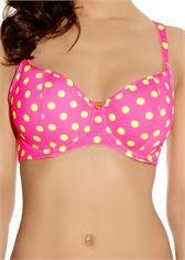 pink polka dots <3 Bon Bon  Sweetheart Padded Bikini Top