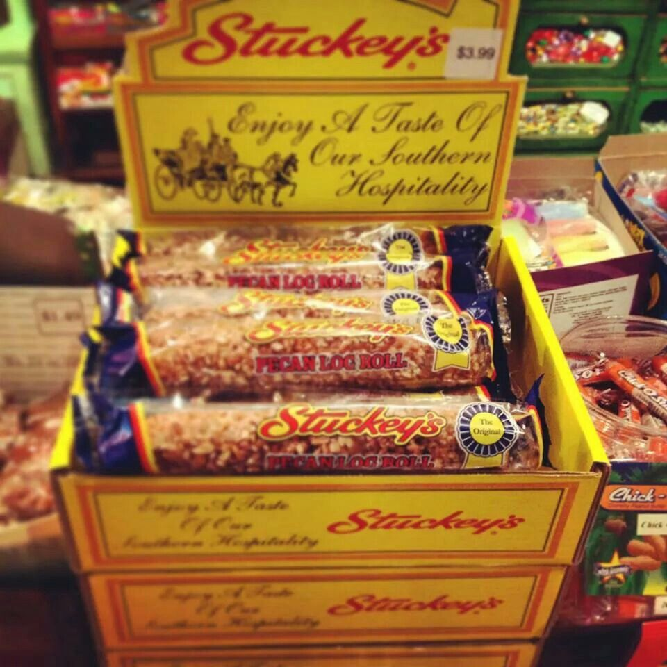 Stuckeys roadside stop....b♡ Pecan log, Pecan log roll