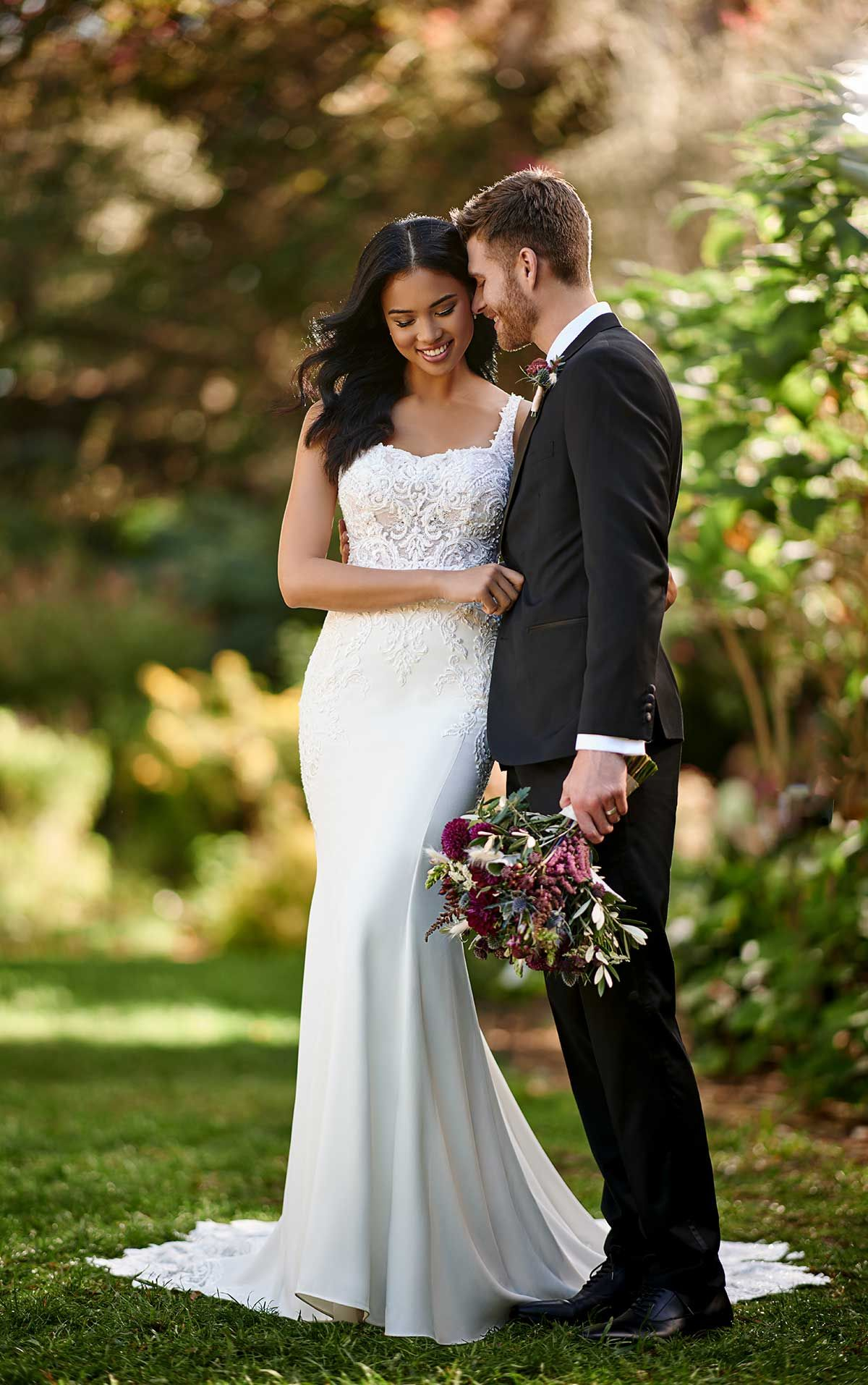 18+ Square neck wedding dress australia ideas