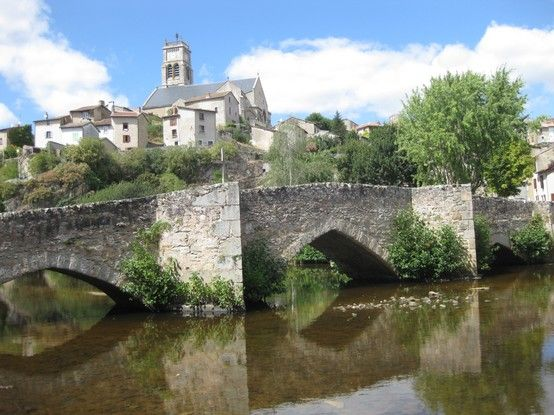 The historic and beautiful town of Bellac
