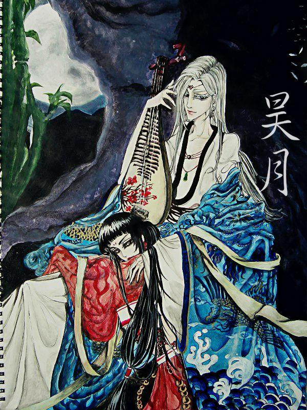 Boundless Moon - Fox demons of Jade Dynasty by 0OBluubloodO0.deviantart.com on @deviantART