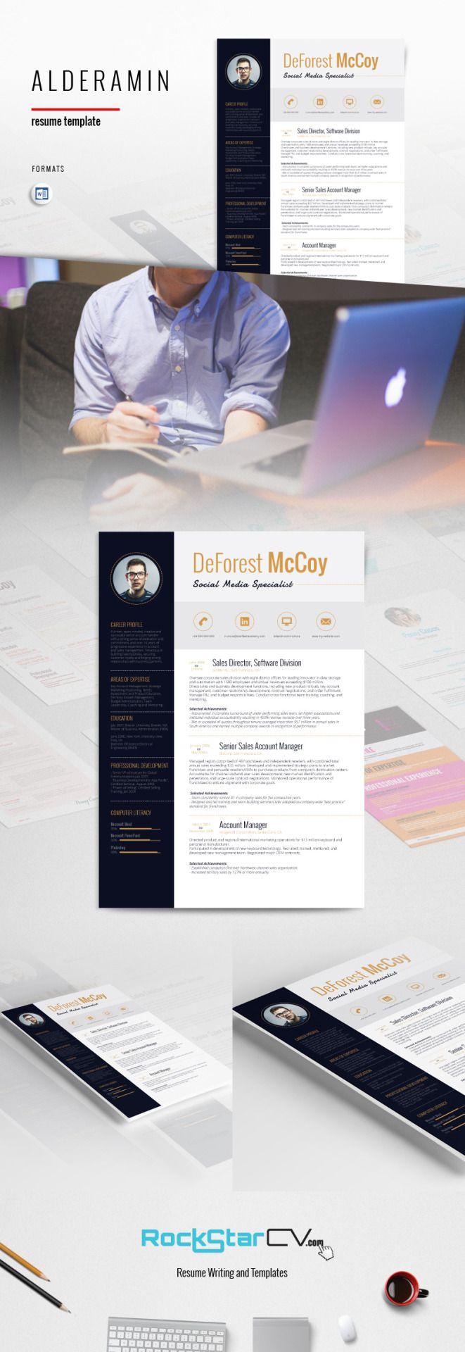 Creative Resume Templates http://rockstarcv.com/editable-resume ...