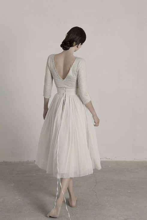 b677bcf635 36 Ultra-Glamorous Two-Piece Wedding Dresses   one day   Wedding ...