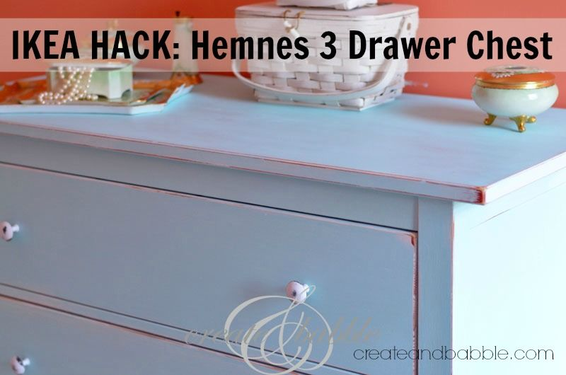 Ikea Hack Hemnes 3 Drawer Chest Create And Babble Ikea Furniture Makeover Diy Baby Furniture Ikea Hack