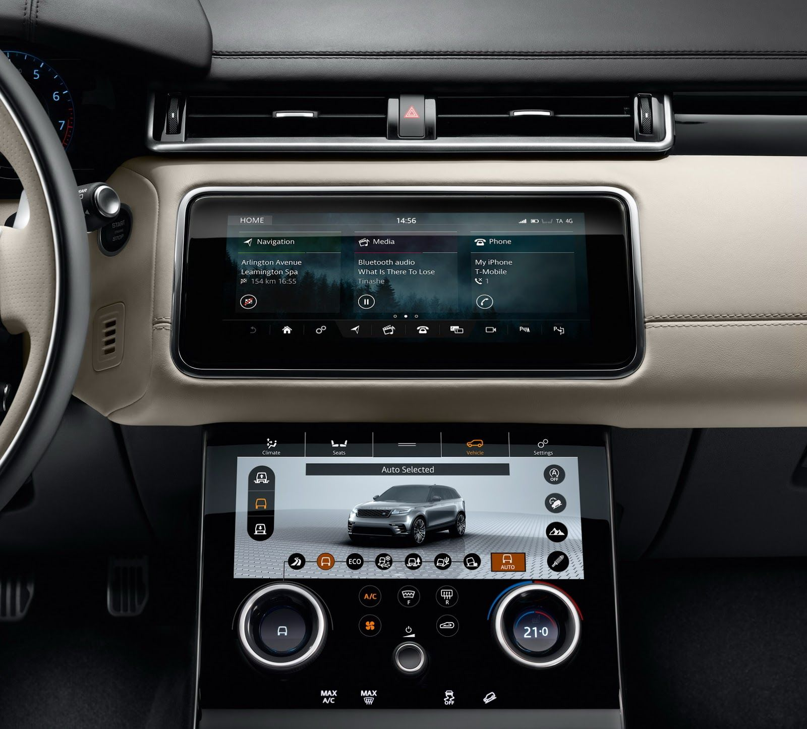 Range Rover Velar 2018 Interior (With images) Range