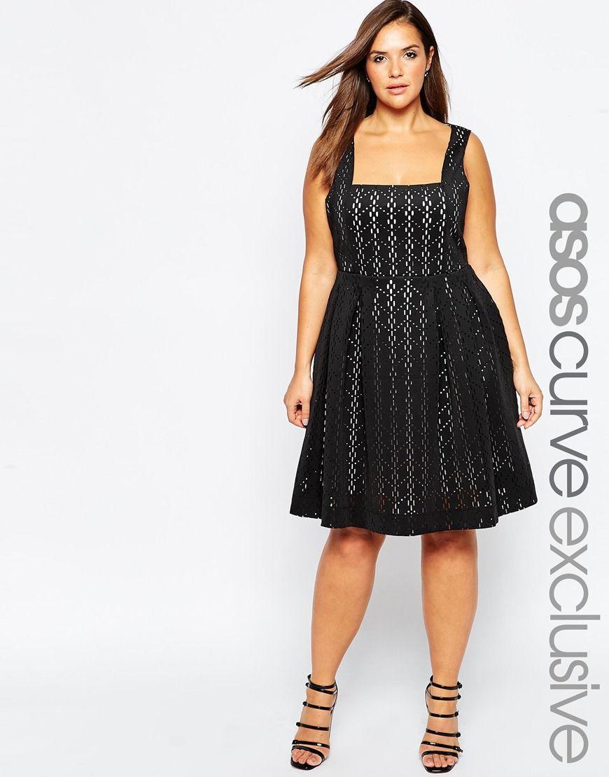 3e40a2202d6 ASOS+CURVE+Debutante+Dress+in+Laser+Cut