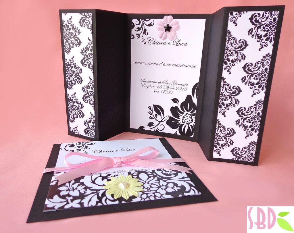 Super Sweet Bio design: Wedding Series: Partecipazioni di Nozze Elegance  SE86