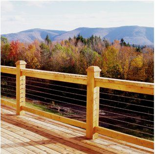RailEasy™   DIY Stainless Steel Cable Railing