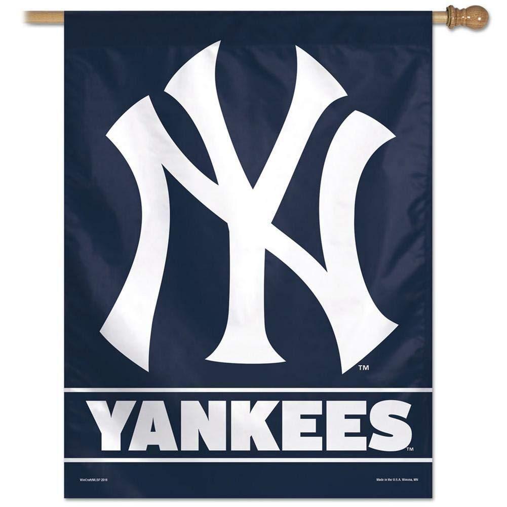 New York Yankees Team Logo Vertical Flag In 2020 New York Yankees Logo New York Yankees Yankees