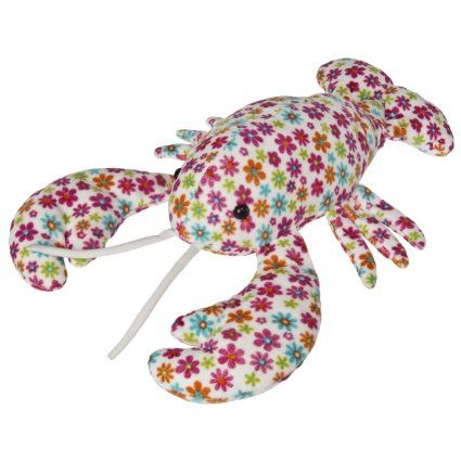 foto de Amazon com: Mary Meyer Print Pizzazz Plush Dazey Lobster