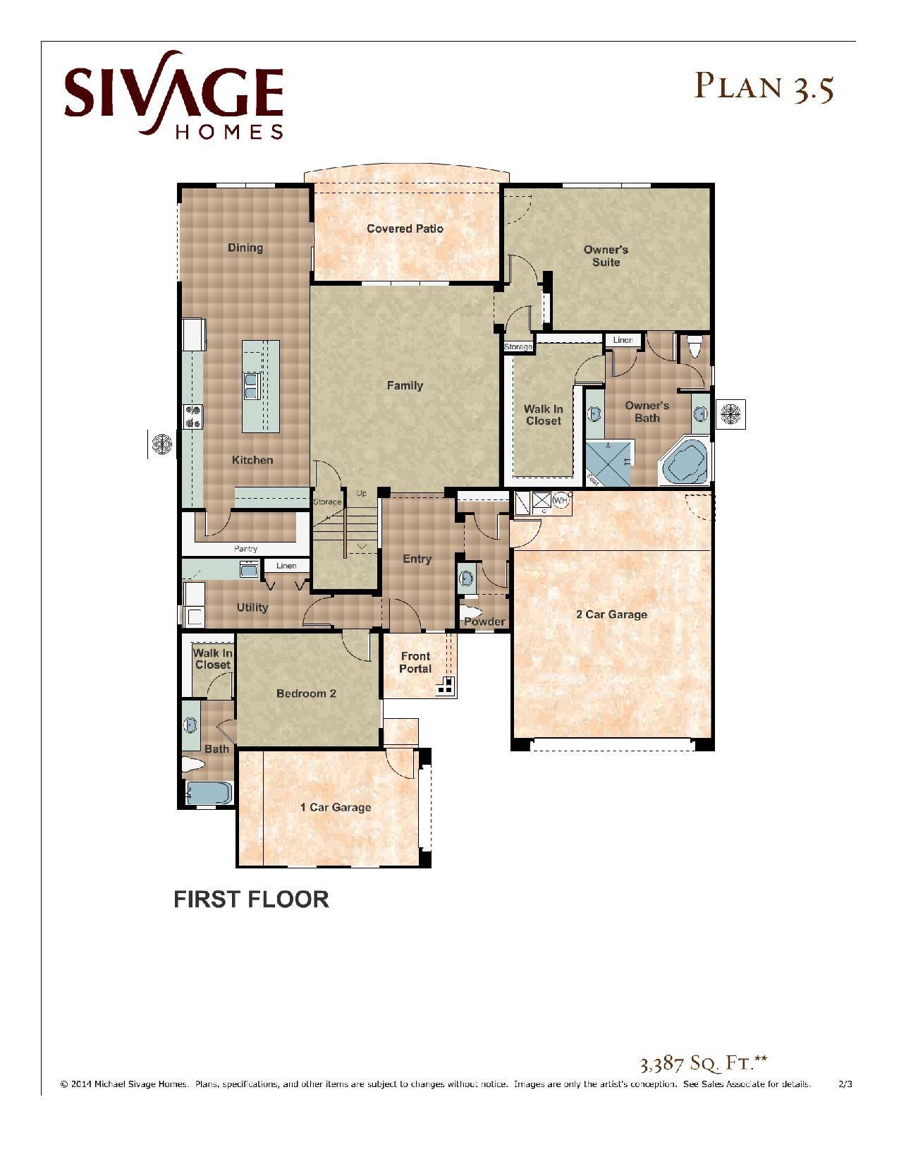 Sivage 3.5 floor plan