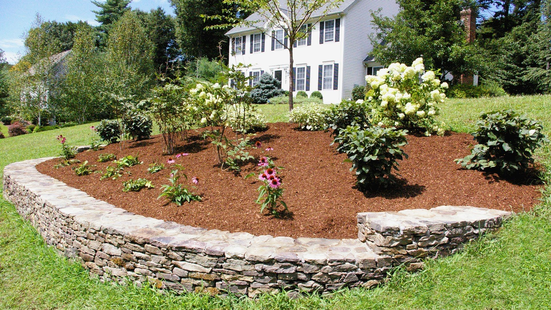 landscaping ideas for a front yard a berm for curb appeal on front yard landscaping ideas id=26731