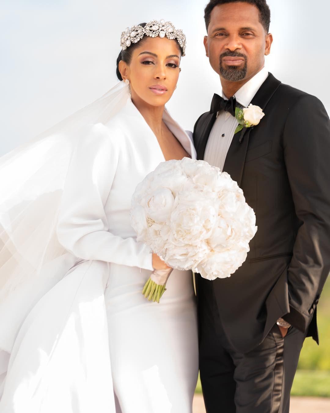 Mr Mrs Epps Kyraepps In The House 4sho Black Bride California Wedding Bride