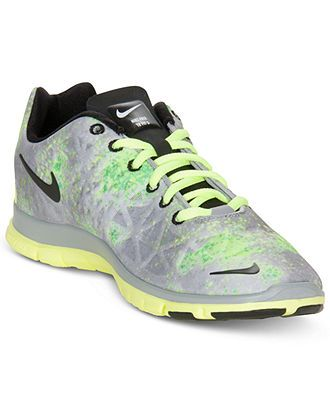Nike Womens Shoes, Free TR Fit 3 Print Sneakers - Finish Line Athletic Shoes  -