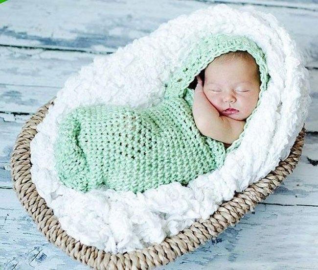 10 ideas de capullos tejidos en crochet para bebés | En estas épocas ...