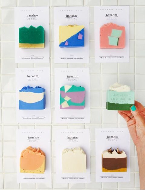 more than just soap: Hanahzo
