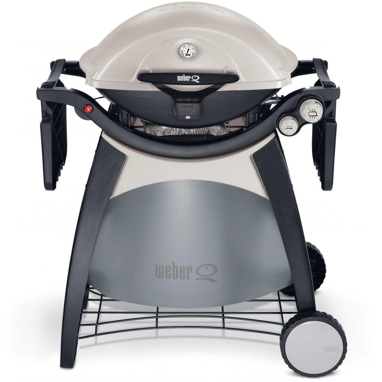 Weber Q 320 Propane Gas BBQ Grill Cart