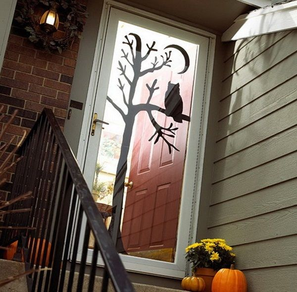 45 Scary Halloween Decoration Your Home Needs to Nail The Festival - scary door decorations for halloween
