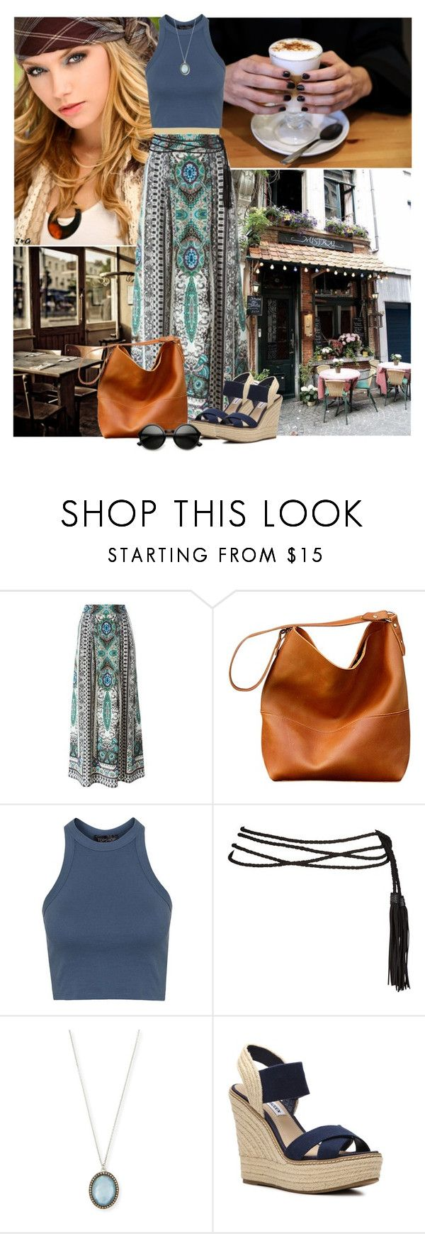 """Feeling Great"" by mayara1011 ❤ liked on Polyvore featuring Etro, Topshop, Armenta and Steve Madden"